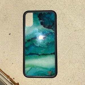 Wildflower phone case iphone x or xs